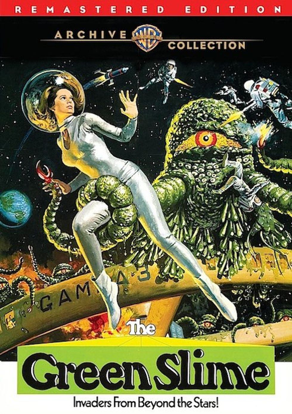 The Green Slime On Warner Archive DVD