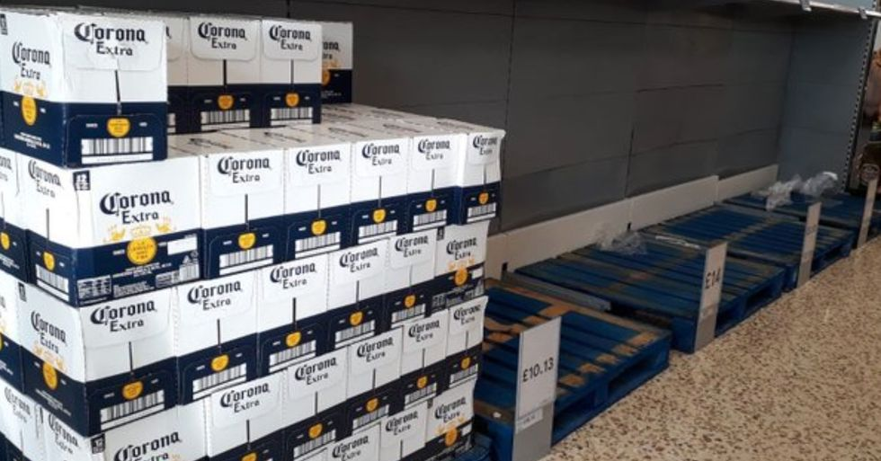 People Are Panic Buying Every Kind Of Beer Except For Corona