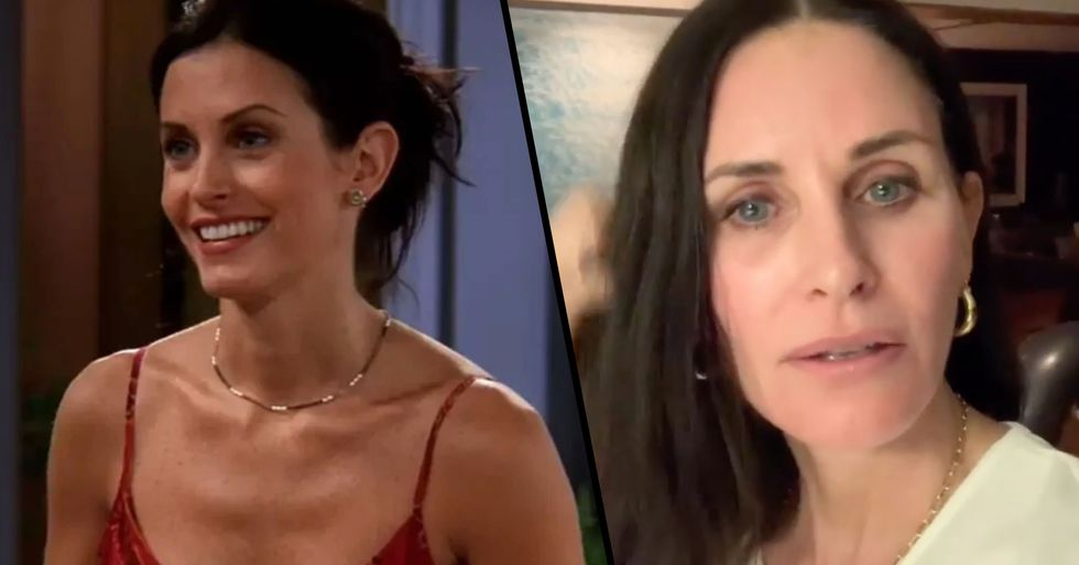 Courteney Cox Doesn't Remember Being on 'Friends'