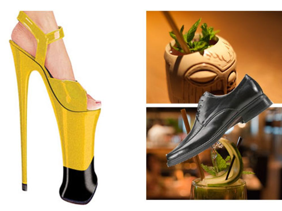 Sky Heels + Hurricane Club Shoe Shines in Today's Eight Items or Less