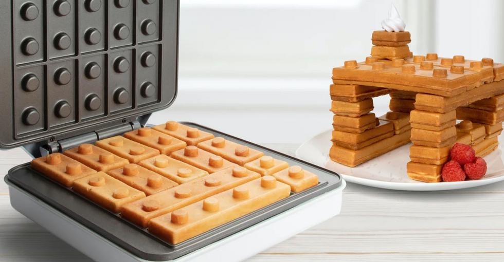 Building Block Waffle Maker Is Like Eating Lego for Breakfast