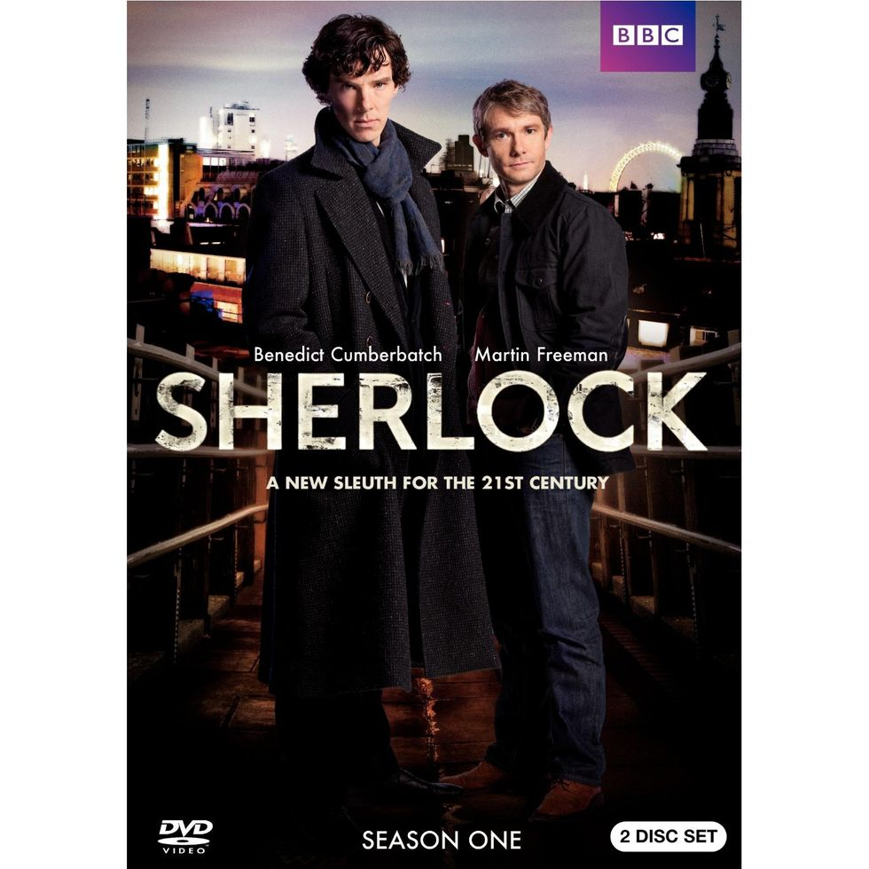 Sherlock On DVD & Blu-ray