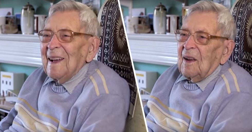 World's Oldest Man Has Just Celebrated Another Birthday
