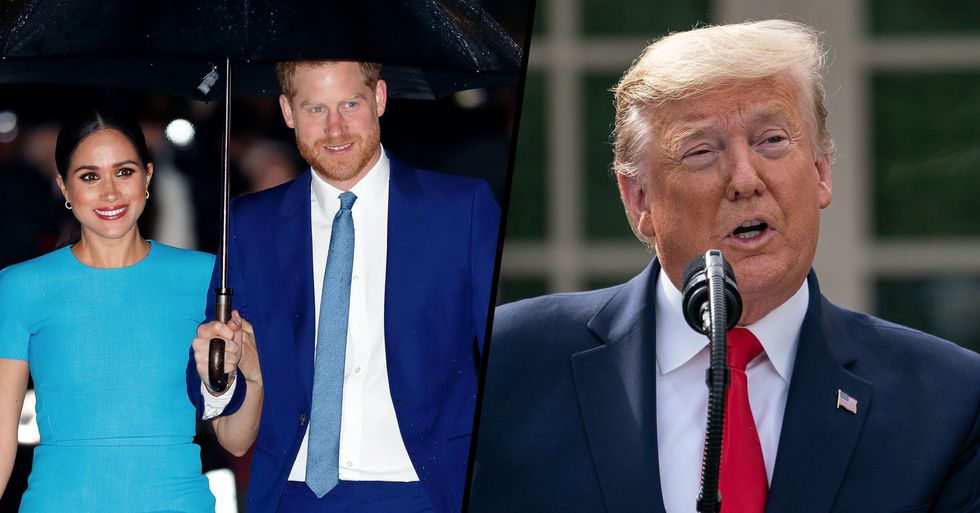 Harry and Meghan Respond to Trump Refusing to Pay $8 Million Security Bill