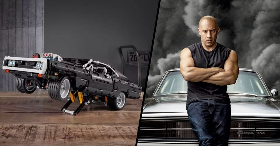 Lego Releases 1,077-Piece 'Fast and Furious' Set of Dominic Toretto's Car