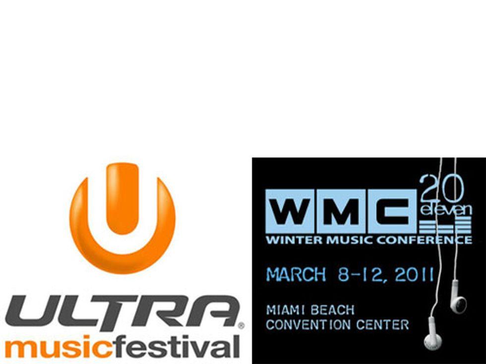 WMC Vs. Ultra Music Festival: It's On!