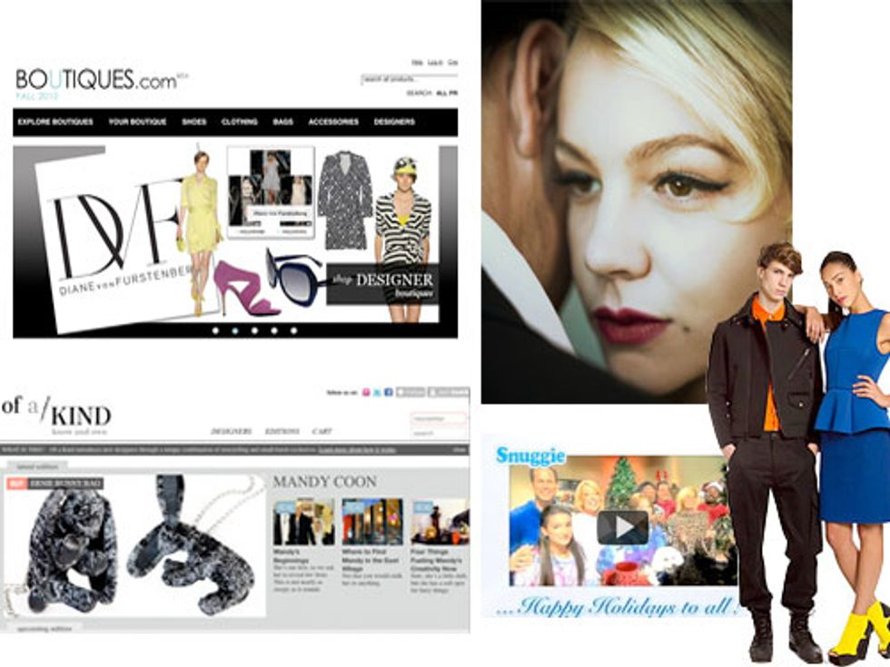 Google and Tumblr's New E-Commerce Sites + Opening Ceremony for Tron in Today's Style Scraps