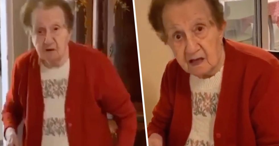 Lockdown Whiners Slammed by Holocaust Survivor Grandma Who Hid in a Well for 3 Years