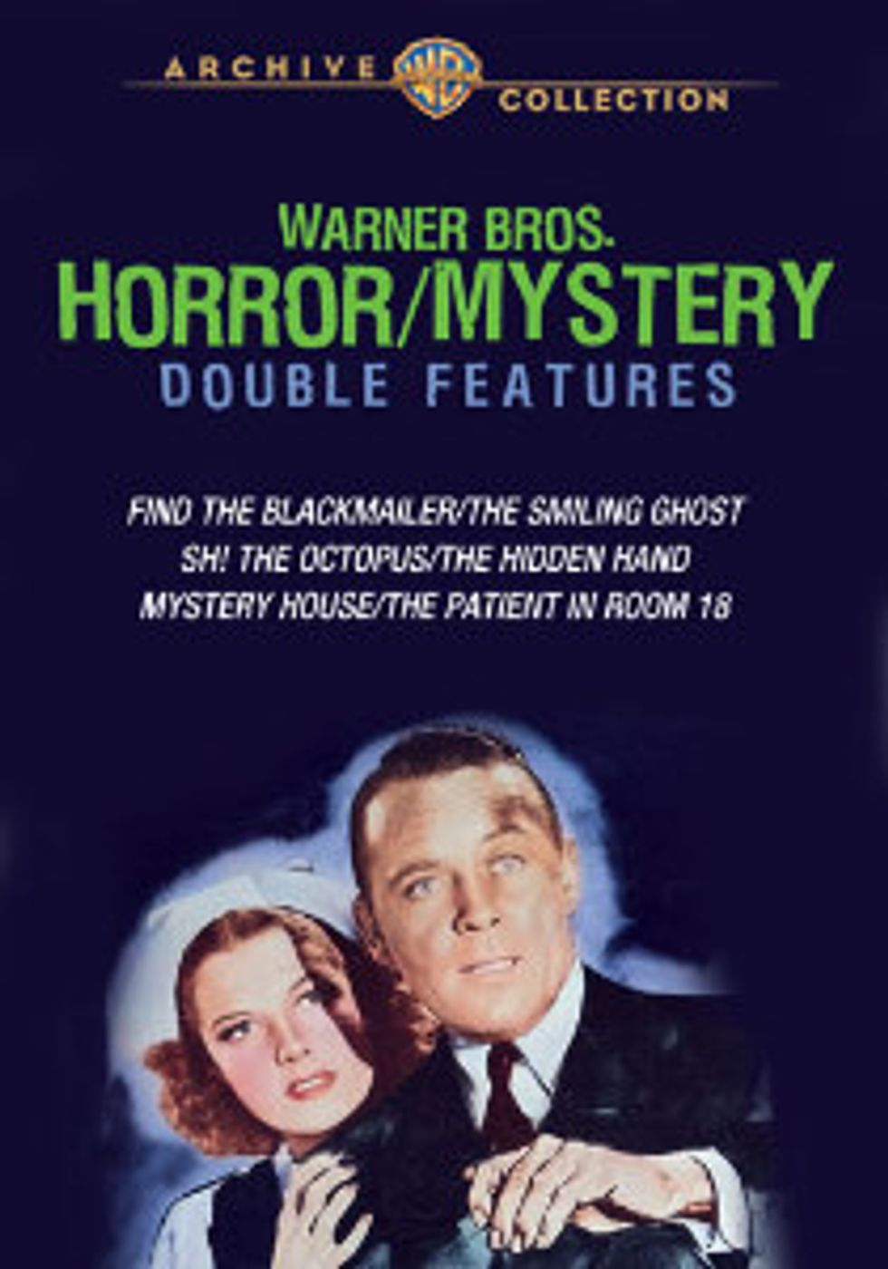 Warner Brothers Horror/Mystery Double Features On DVD
