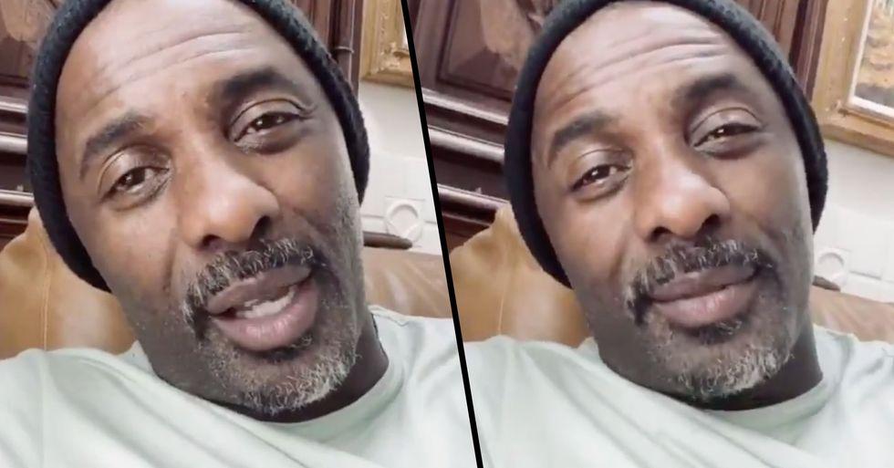 Idris Elba Gives Advice to Those Worrying About Coronavirus