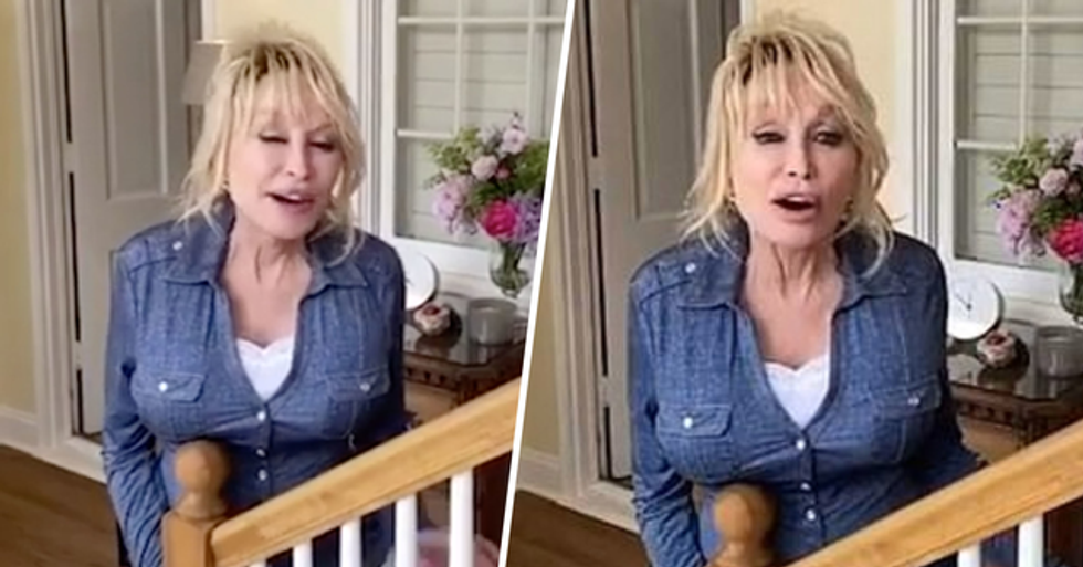 Dolly Parton Says Coronavirus Is a Lesson From God
