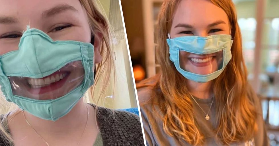 College Student Creates Face Masks for the Deaf and Hard of Hearing and Our Hearts Are Warm