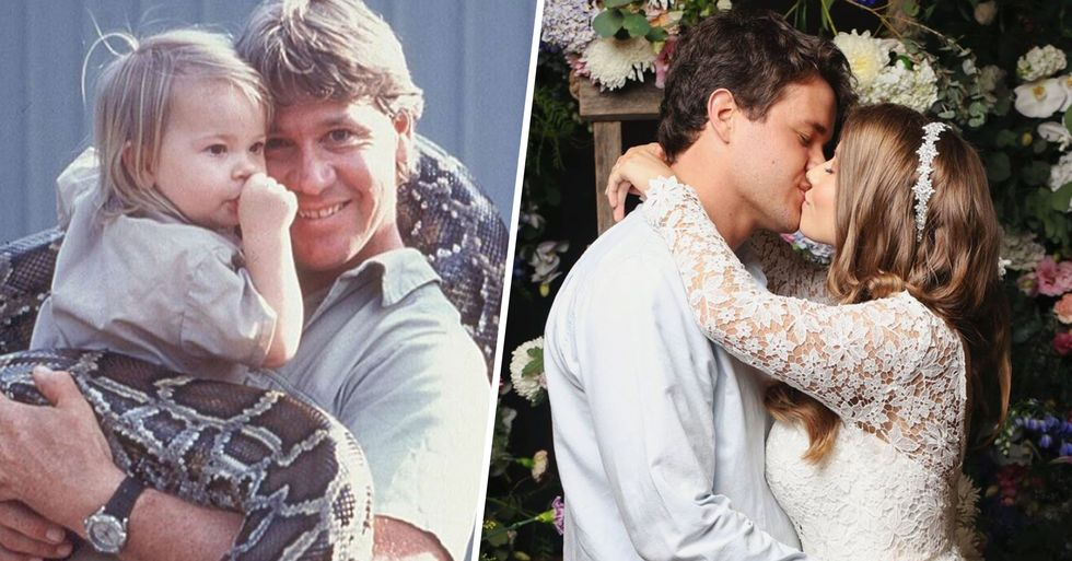 Bindi Irwin Shares the Touching Way She Honored Dad Steve at Her Wedding