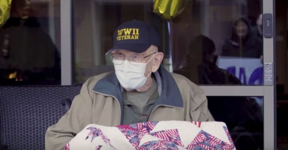 104-Year-Old Veteran Who Survived 1918 Spanish Flu Celebrates Birthday After Beating the Odds yet Again