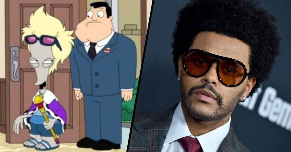 The Weeknd Will Debut Original Song in an Episode of 'American Dad'