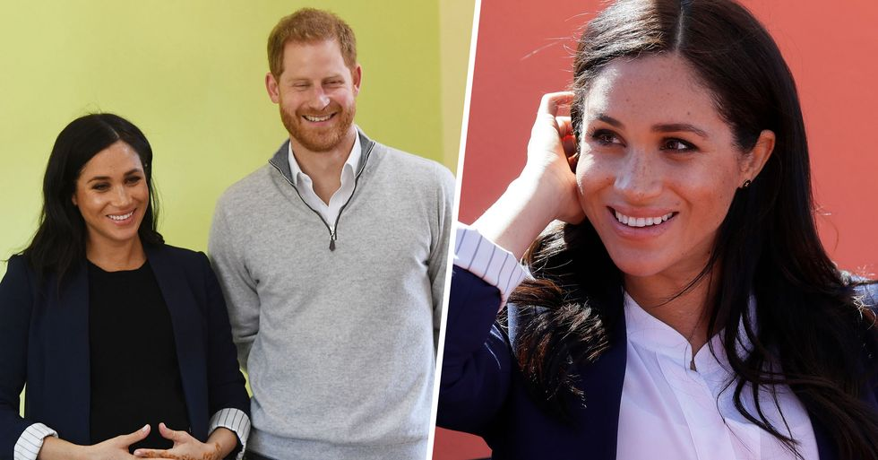 Prince Harry Joined Meghan Markle in the Studio While She Recorded Her Disney Voice Over