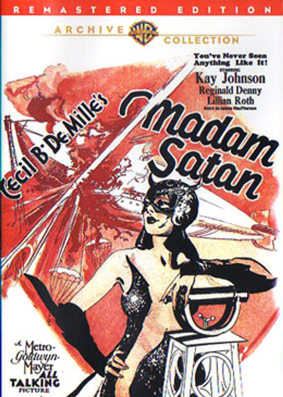 Madam Satan On Warner Archive DVD