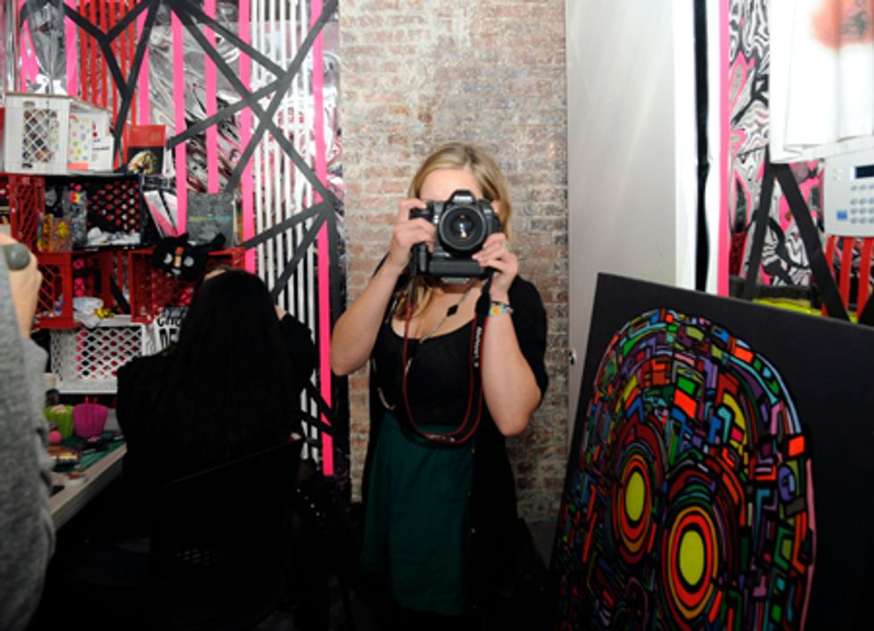 Behind-the-Scenes at Kathy Grayson and Casey Fremont's Baby-G Shoot