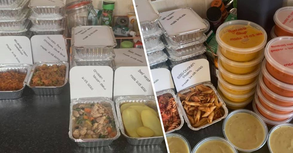 Mom Spends Isolation Cooking 80 Meals a Day for Vulnerable People