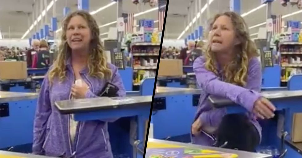 Walmart Shopper Coughs and Spits on Employees Over Billing Dispute