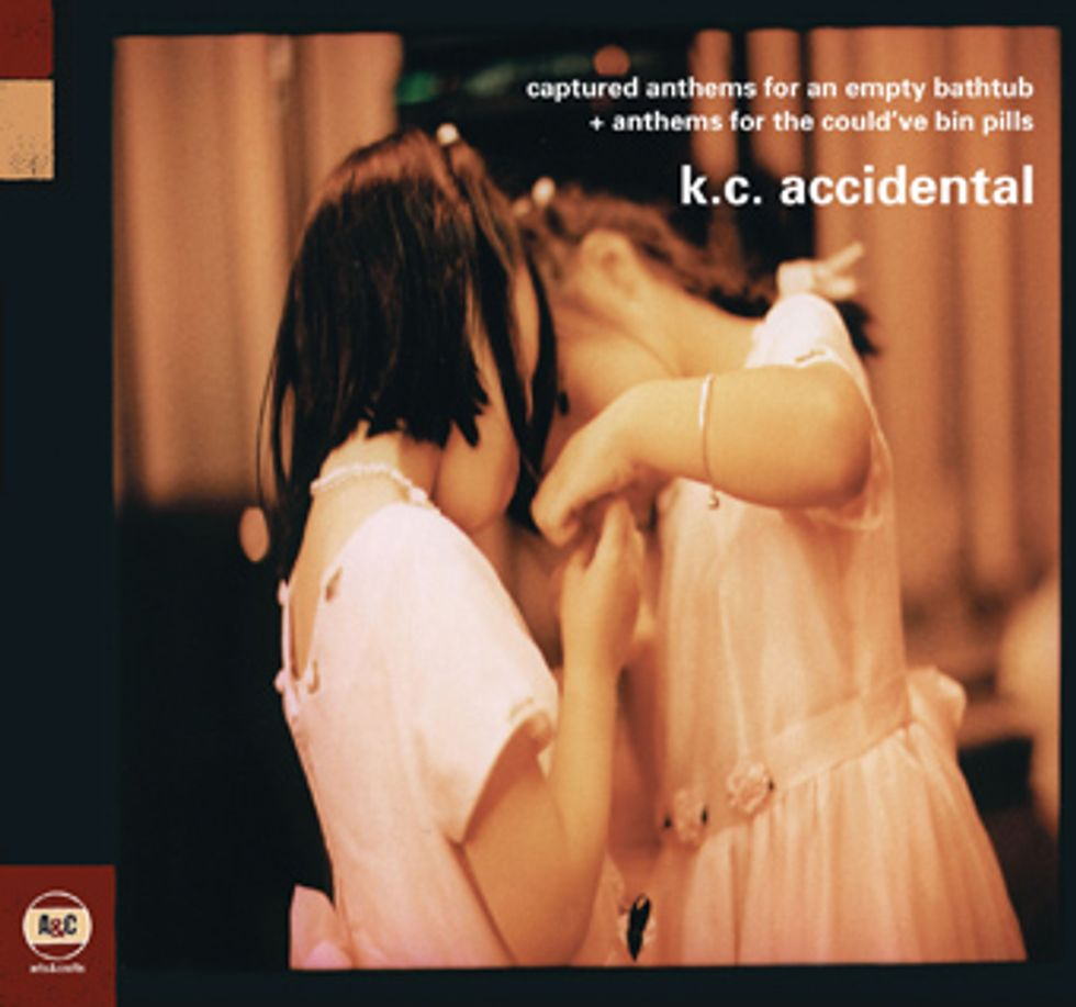 K.C. Accidental's Strange, Scattered Double Re-issue