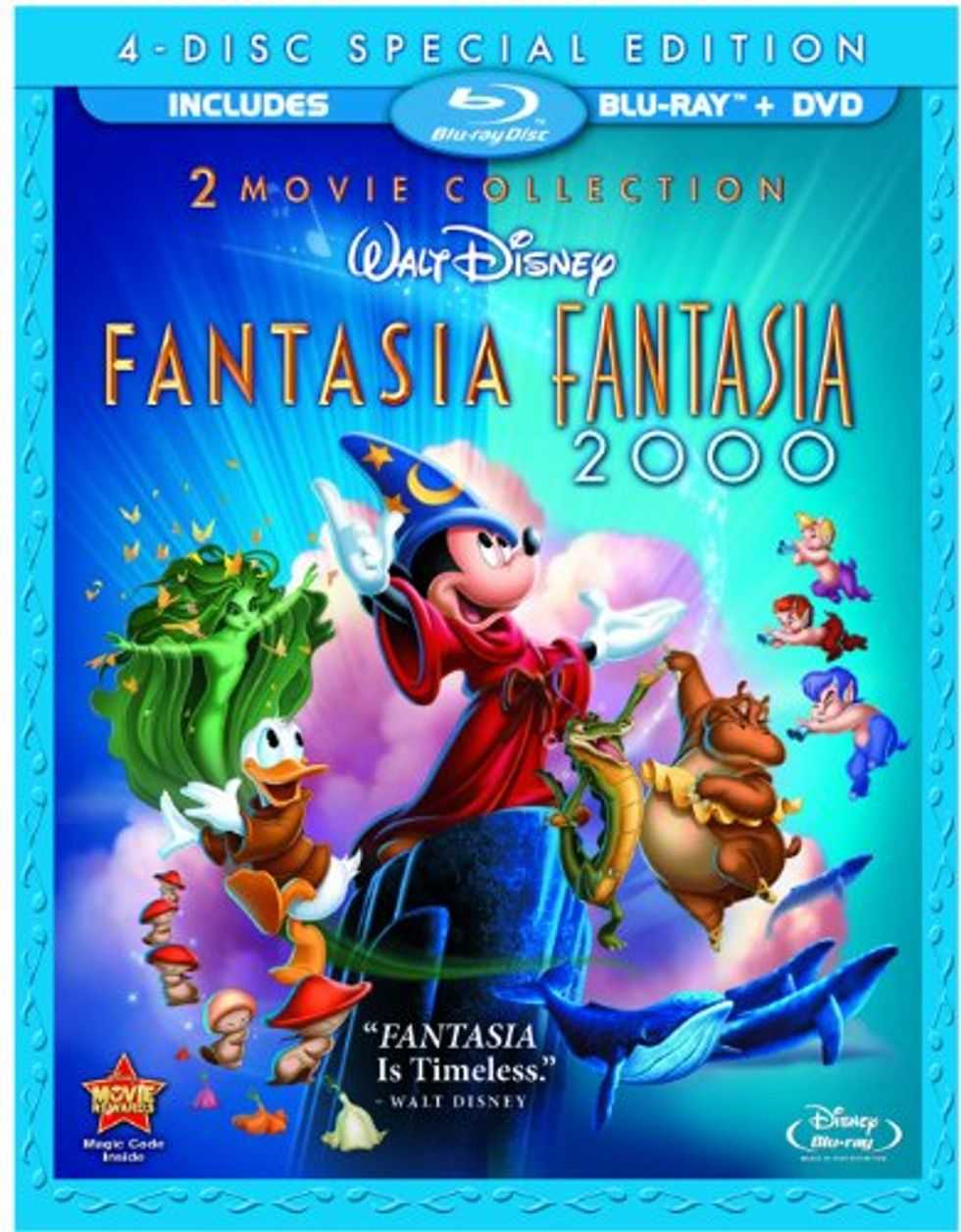 Fantasia On Disney Blu-ray and DVD