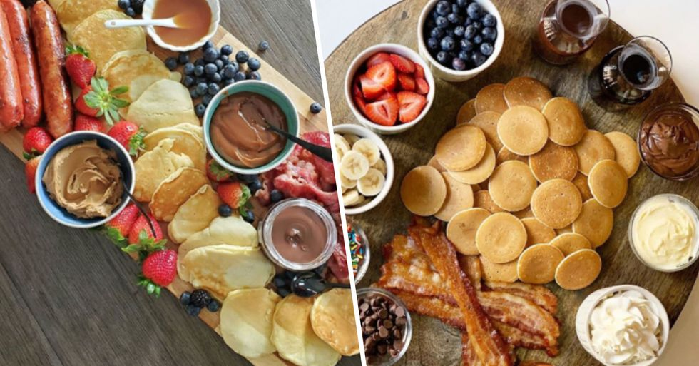Pancake Charcuterie Boards Are a Thing and We Couldn't Be Happier
