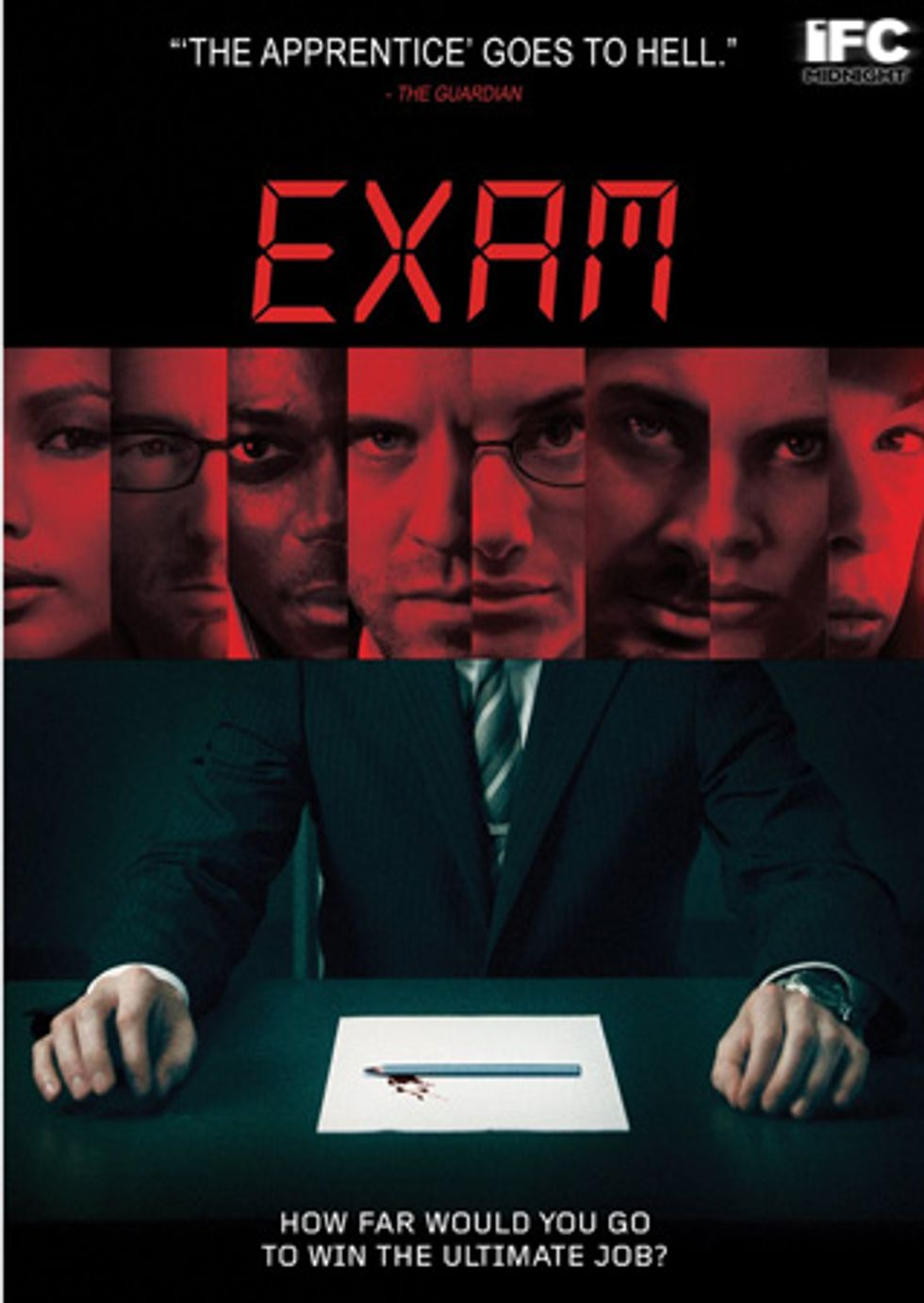 Exam, a Fascinating Thriller, On IFC DVD