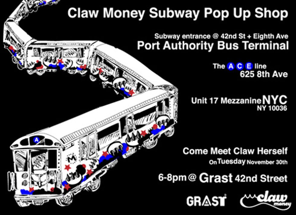 Get Your Paws On Some Claw Money Garb at Port Authority