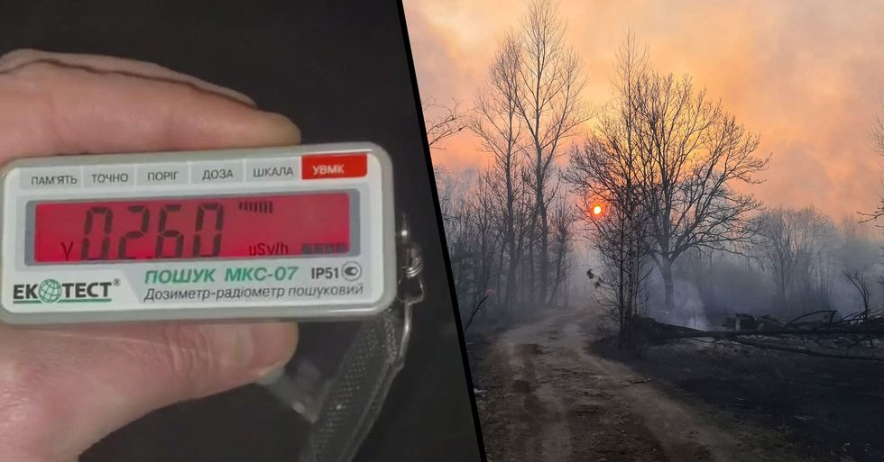 Radiation Levels Spike 16 Times Above Normal Near Chernobyl