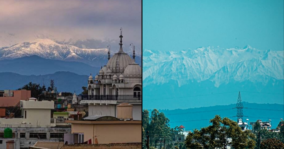 Himalayas Seen for the First Time in Decades After Pollution Drop