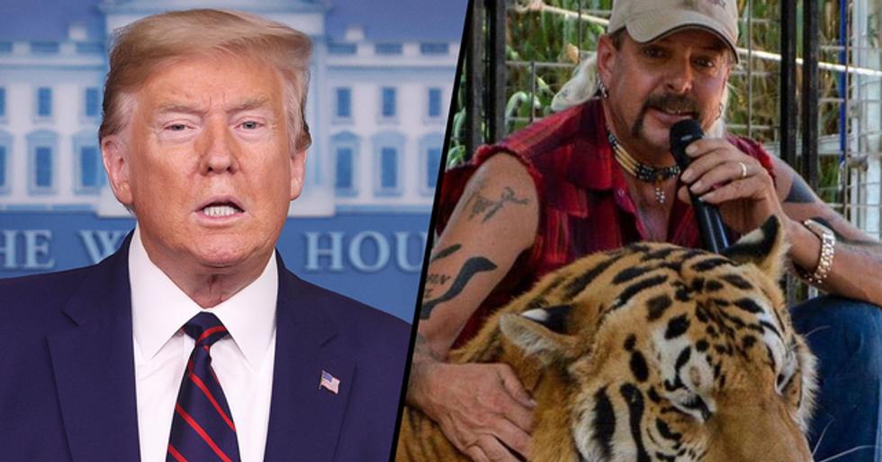 Donald Trump Says He'll 'Take a Look' at Pardoning Joe Exotic