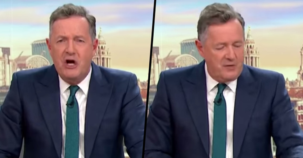 Piers Morgan Incident Receives Over 1,600 Complaints From Viewers