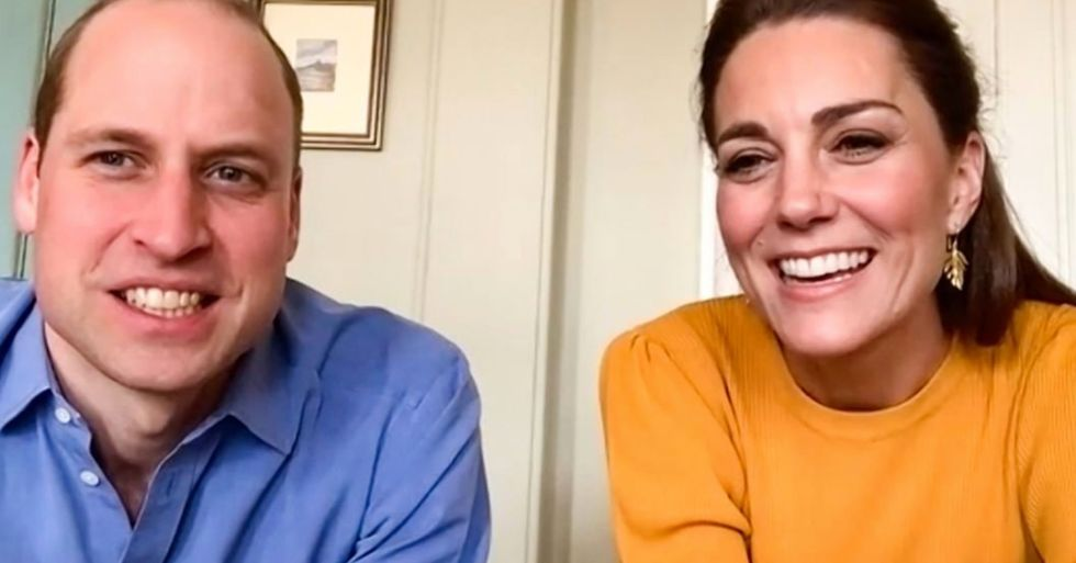 Will and Kate Give Rare Look Into Their Quarantine Life and Home via Zoom Call