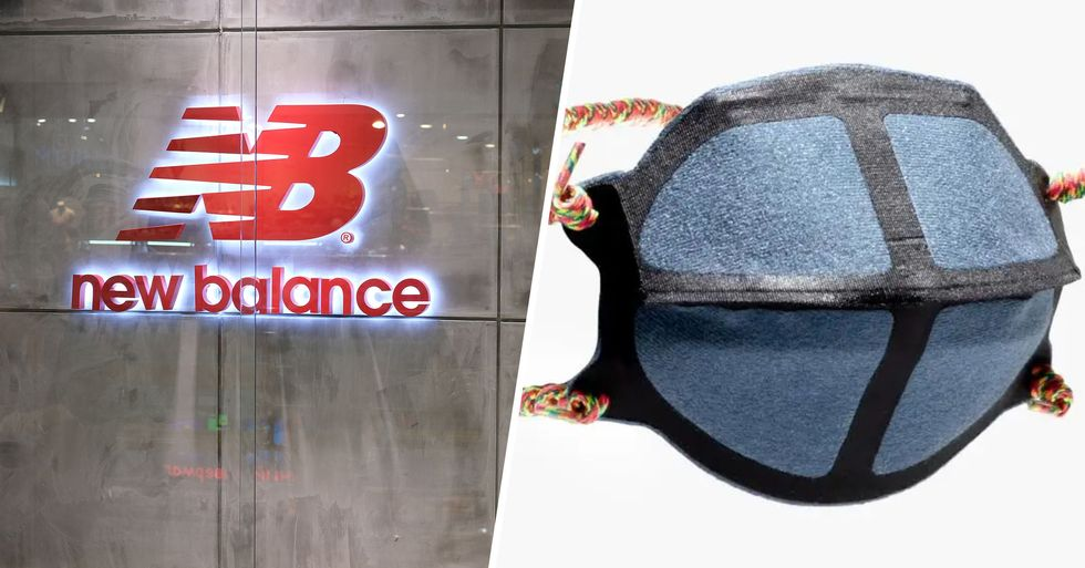 New Balance Making Protective Masks for Those Who Need Them