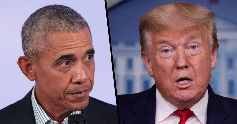 Obama Takes a Swipe at Trump as Sends Warning About 'Mistake' Made in a Crisis