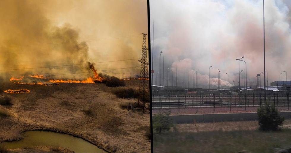 Chernobyl Forest Fires Are Now Burning Dangerously Close to Nuclear Reactor