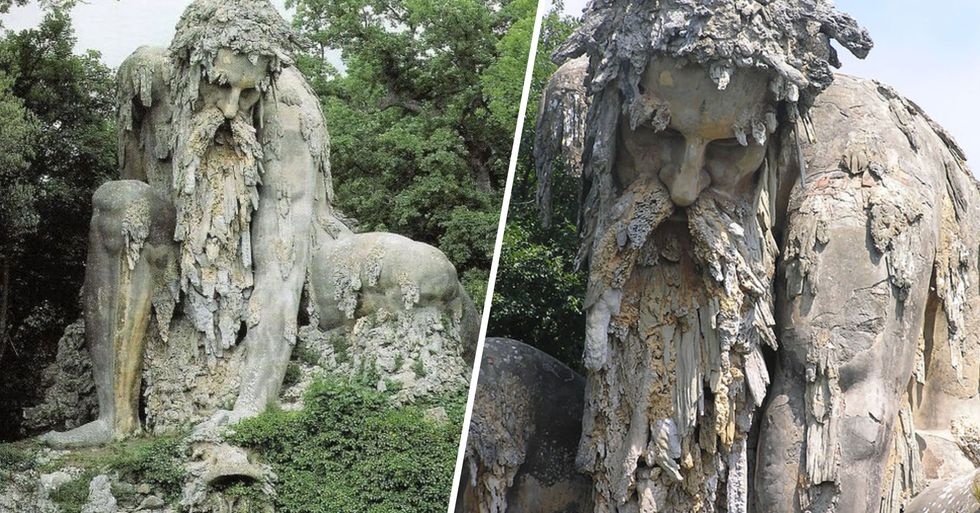 Giant 16th Century 'Colossus' in Italy Has Huge Rooms Hidden Inside