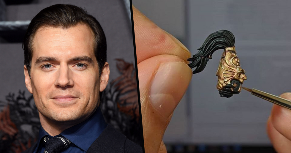Henry Cavill Is Spending His Time in Quarantine Painting Tiny Figures From Video Games