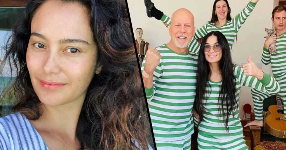 Bruce Willis Continues to Isolate With Ex Demi Moore Despite Wife's Cryptic Instagram
