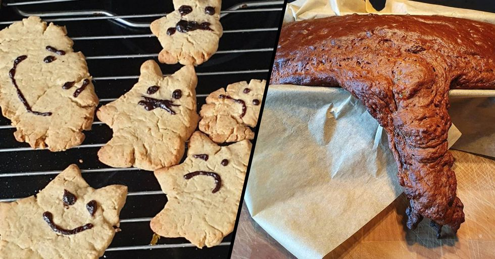 People in Lockdown are Sharing Their Failed Baking Attempts and They're all Hilarious