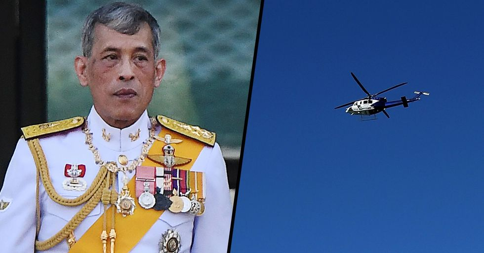 King of Thailand Ignores Lockdown as He Travels 12,000 Miles to Go to Party