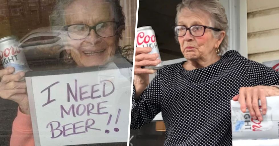 Coors Light Delivers 150 Beers to 93-Year-Old Woman Who Pleaded for More