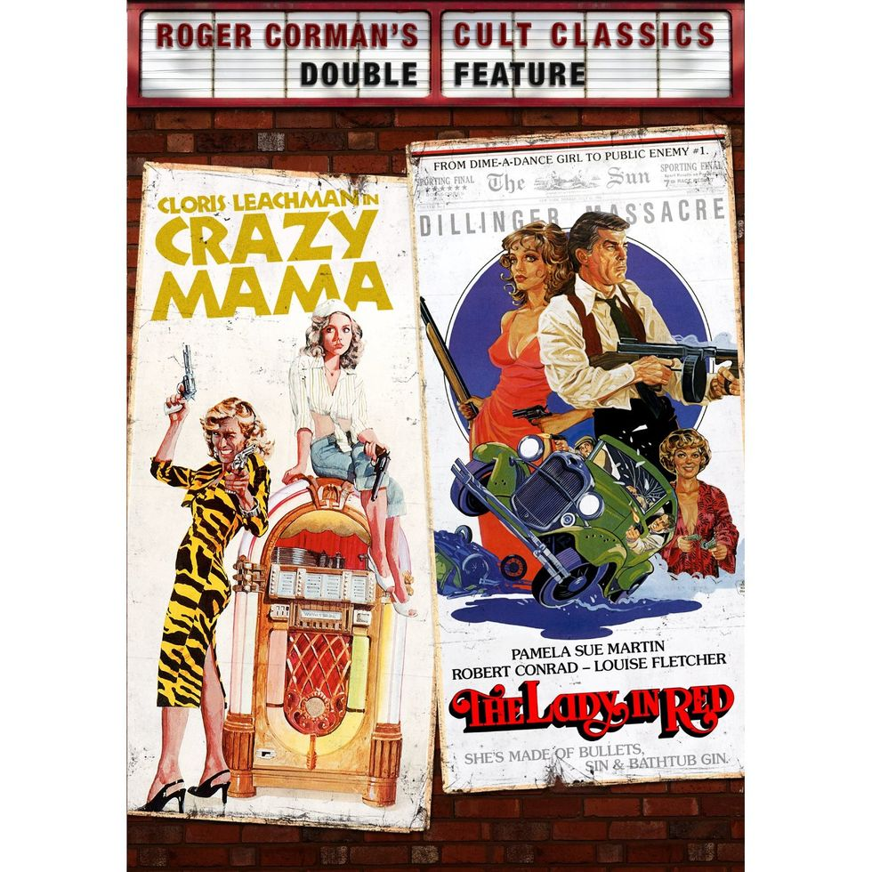 Jonathan Demme's Crazy Mama and The Lady In Red On DVD