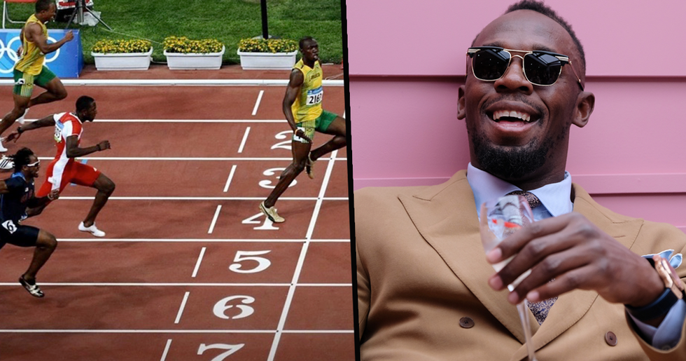 Usain Bolt Makes Himself Into Hilarious Meme to Promote Social Distancing