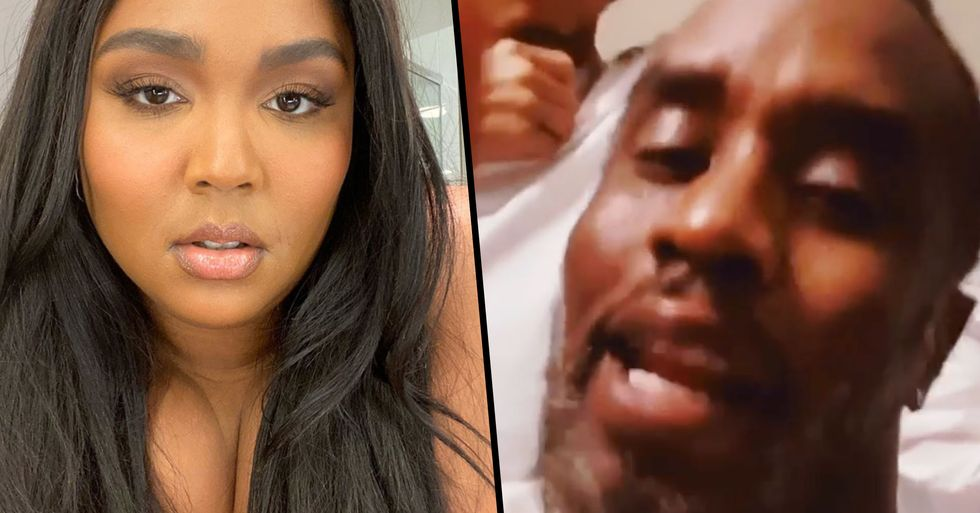 Diddy Explains Why He Stopped Lizzo From Twerking During Dance-A-Thon