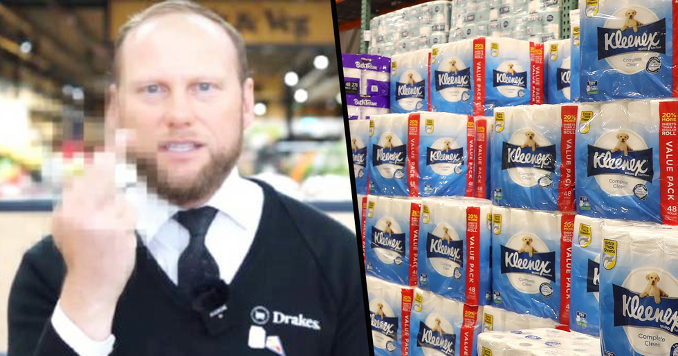 Shopper Tries to Return 4,800 Stockpiled Packs of Toilet Paper, Store Owner has Brutal Response