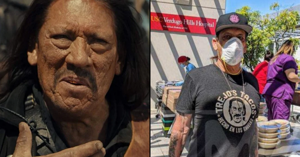 Danny Trejo Donates Hundreds Of Tacos To Los Angeles Healthcare Workers