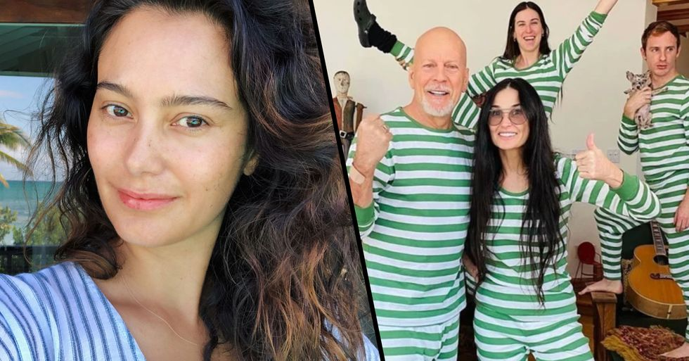 Bruce Willis Spills on His Relationship With Wife as He Quarantines With Ex Demi Moore