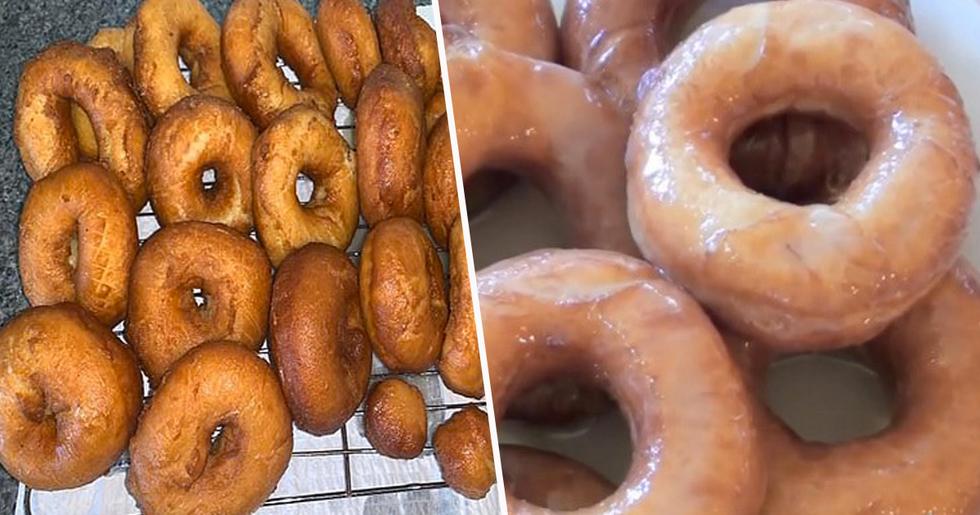 Chef Shares Simple Recipe to Make Krispy Kreme Glazed Doughnuts